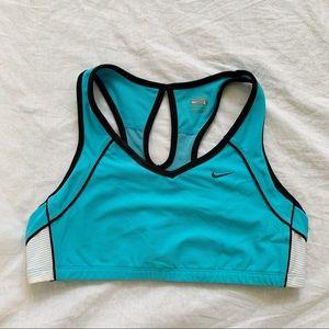 Nike pullover sports bra